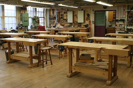 Woodworking classes at Philadelphia Furniture Workshop