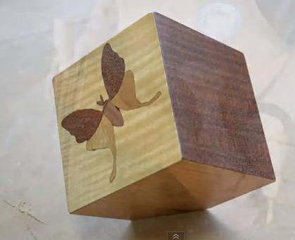 studio woodworking show students work