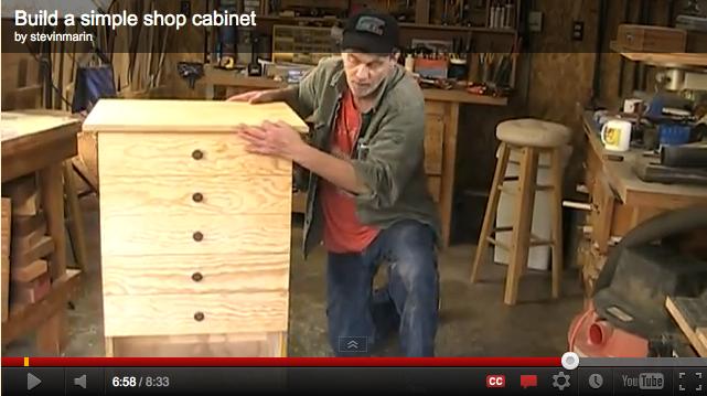 Building a Shop Cabinet