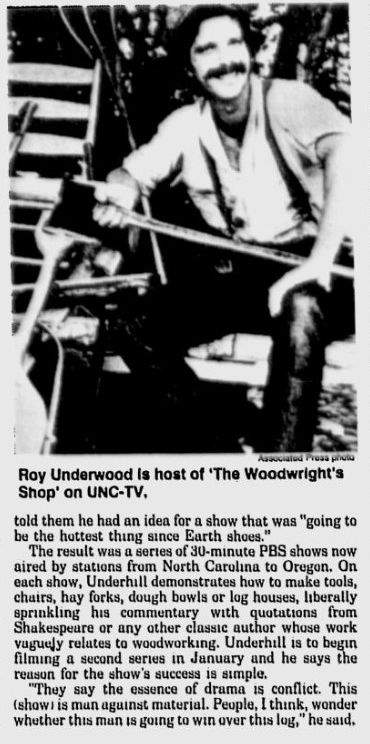 Roy Underhill's Woodwright Shop