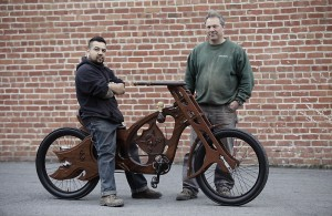 Aspiring Woodworkers Build The Ultimate Wooden Bike